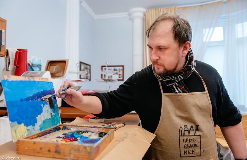 В Русском Доме начались мастер-классы по живописи