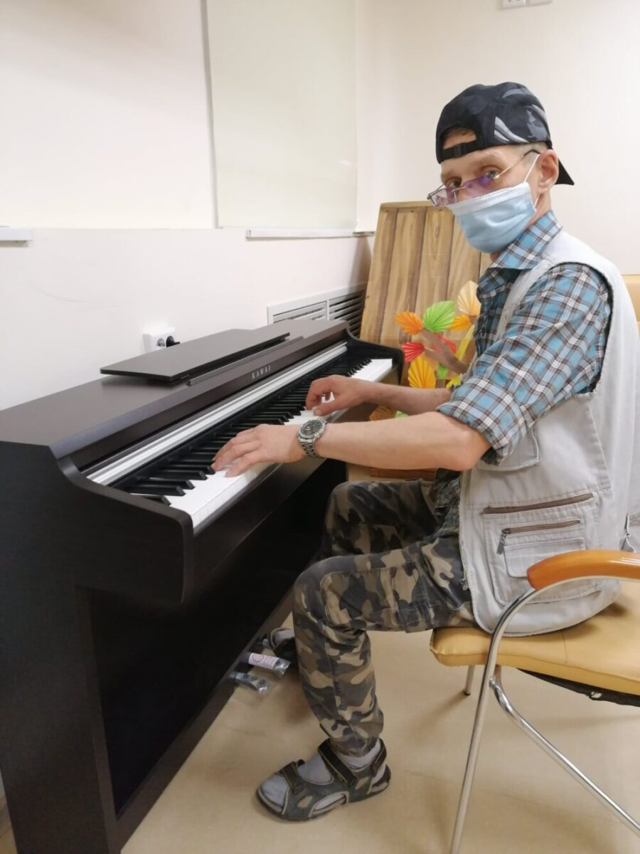 Пианино для подшефного ПНИ №33