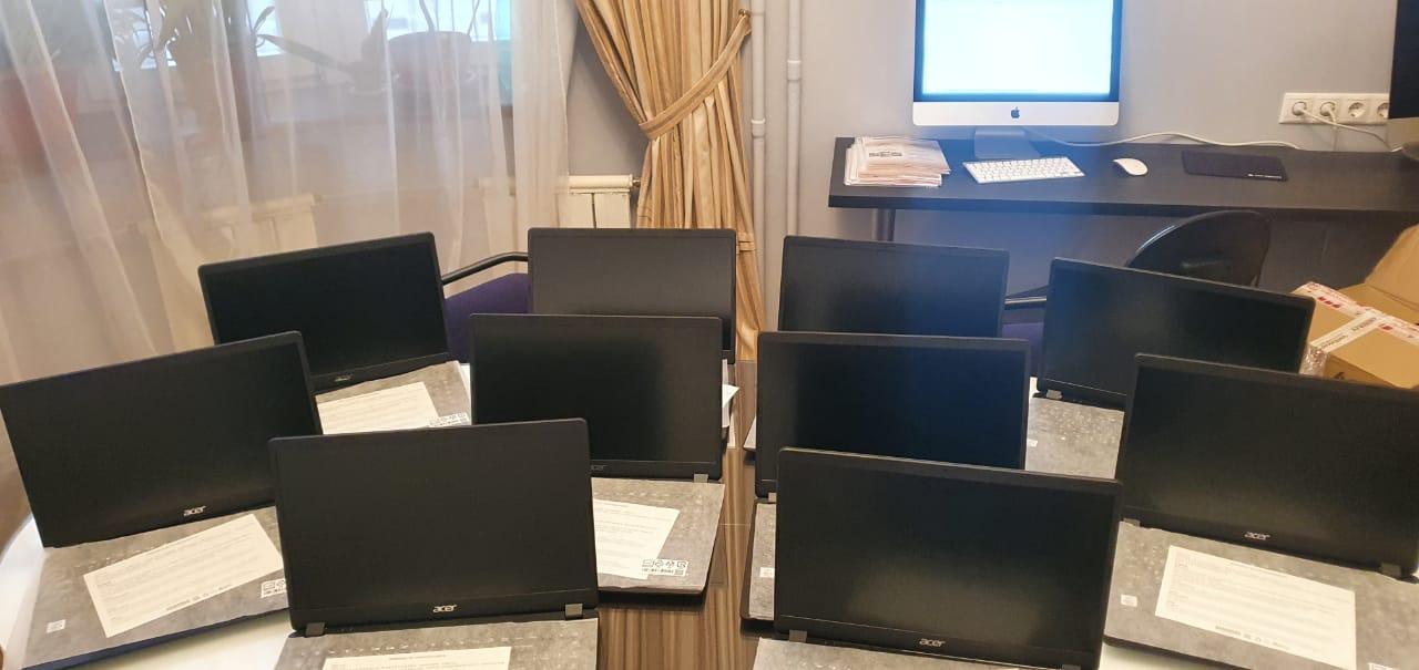 Ноутбуки для подопечных ПНИ №33
